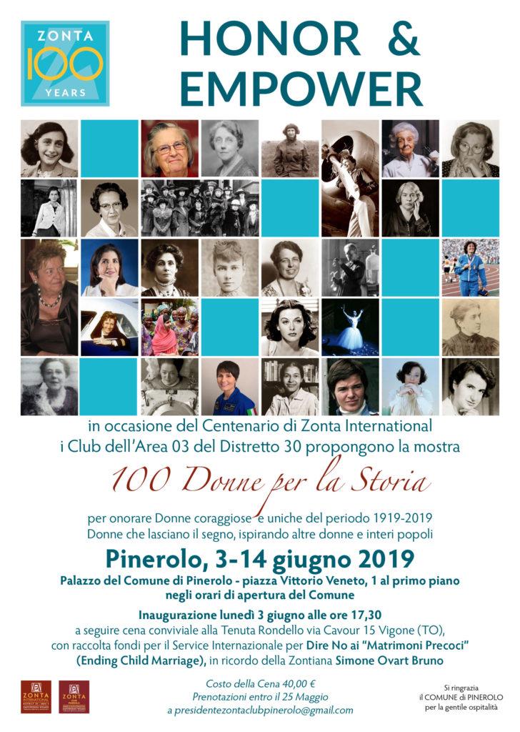 100 Donne per la Storia